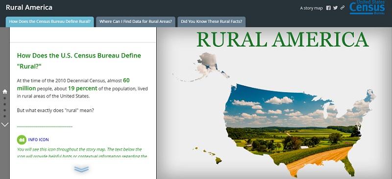 Census Bureau Open Data Map Focuses On Rural Communities Meritalk