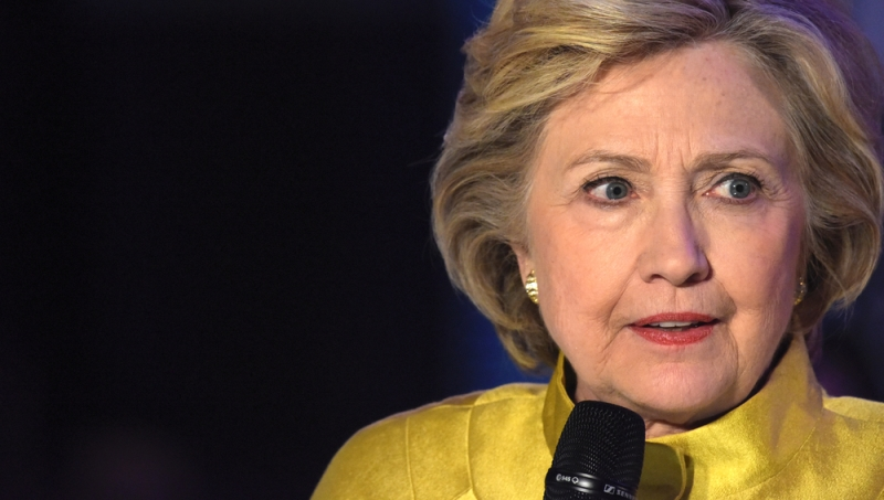 Hillary Clinton describes Donald Trump as 'the most unsafe  President in history'