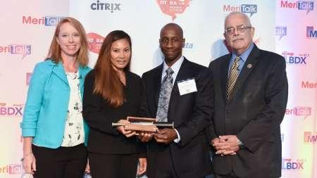Walter McDonald Ann Kim FITARA Awards Department of Education