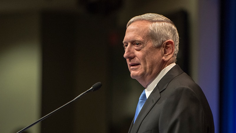 James Mattis Defense Secretary DoD