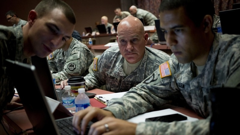 military dod army AI innovation cyber command