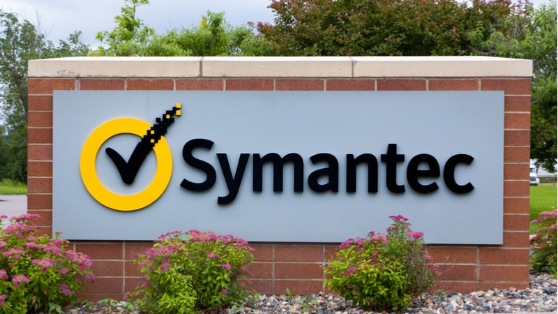 Symantec sign