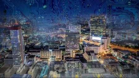 IoT City Cyber modernization chip internet of things