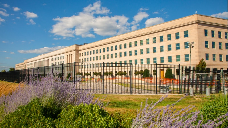 The Pentagon is a very large building that houses a lot of the authorities for the U.S. Military. It's big. This photo doesn't do it justice, but they're kinda rightly concerned about people flying drones around there.