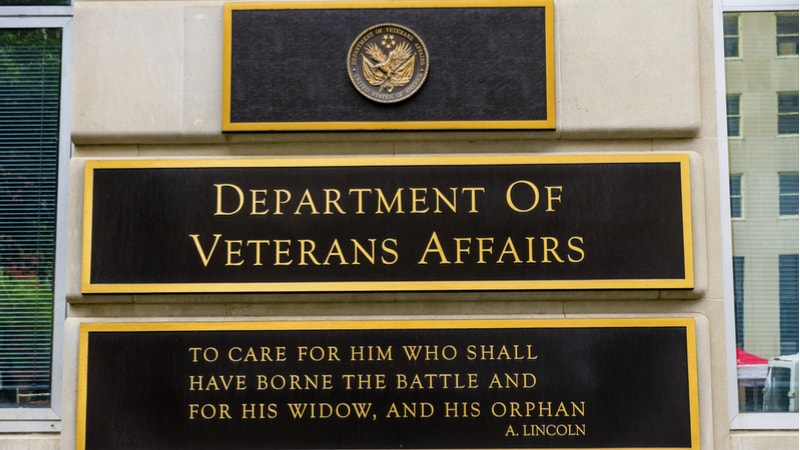 Veterans Affairs VA Vets