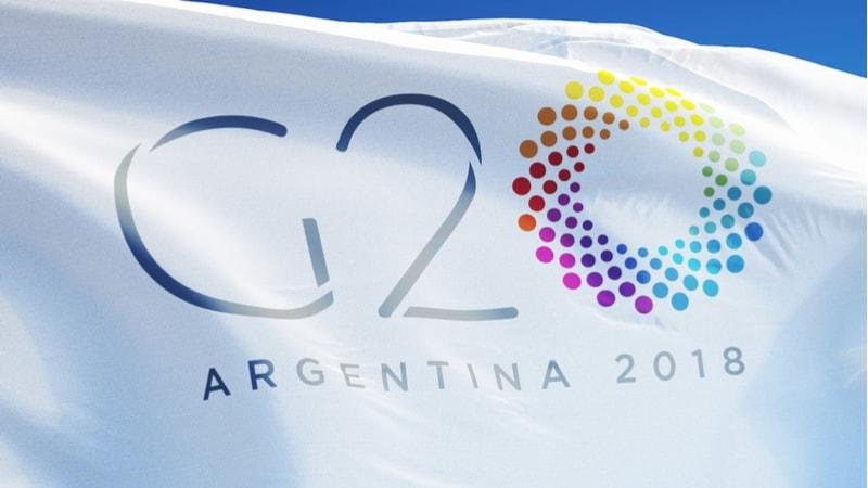 g20 flag argentina