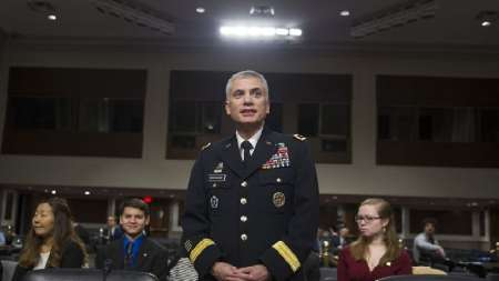 Nakasone US Cyber Command