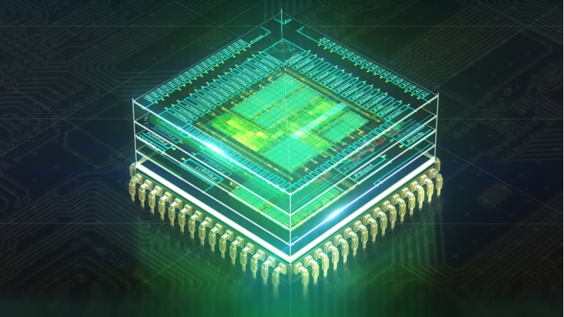 quantum computing QIS chip processor motherboard