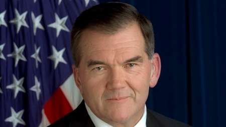 Former DHS Department of Homeland Security Pennsylvania Governor Tom Ridge