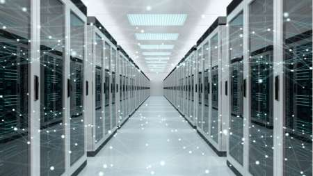 DCOI data center server room infrastructure hyperconverged cloud storage architecture