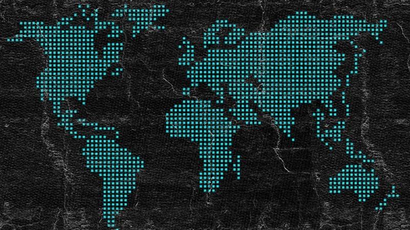 World globe trade