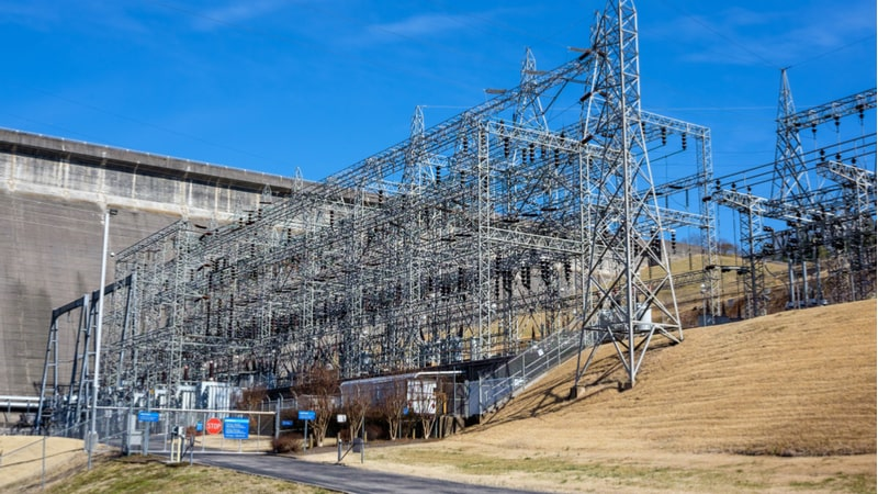 Electric Grid Substation Tennessee Valley Authority