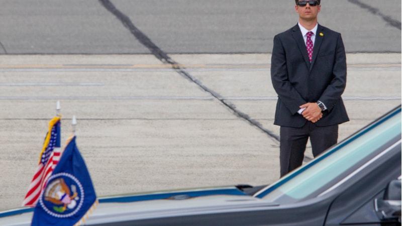 Secret Service Presidential Motorcade