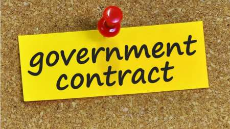 government contract procurement spending-min