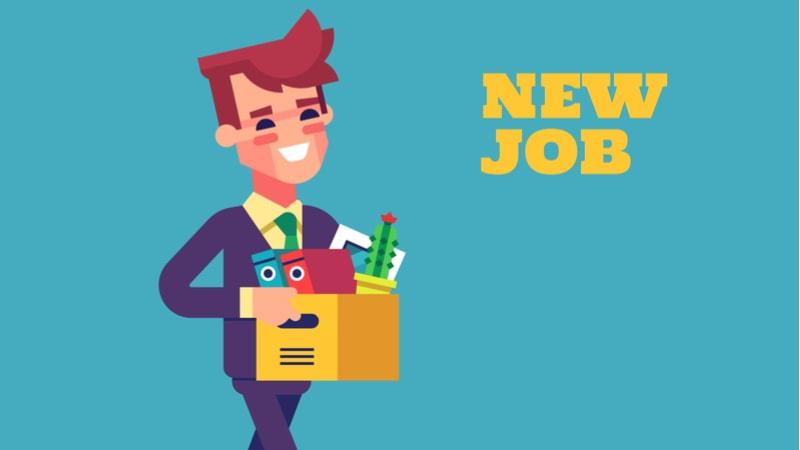 New job hired workforce-min