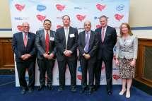FITARA Awards 2019 - Congressman Gerald Connolly, Gundeep Ahluwalia, Geoff Kenyon, Jeff Johnson, Bryan Slater, Caroline Boyd